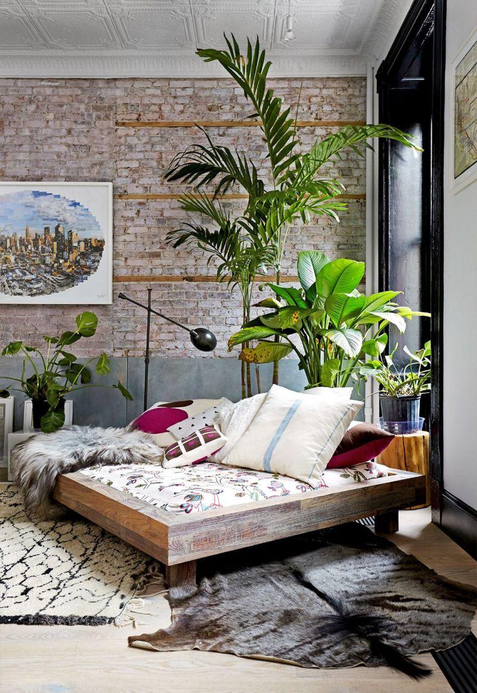 Low-platform-boho-bedroom-design